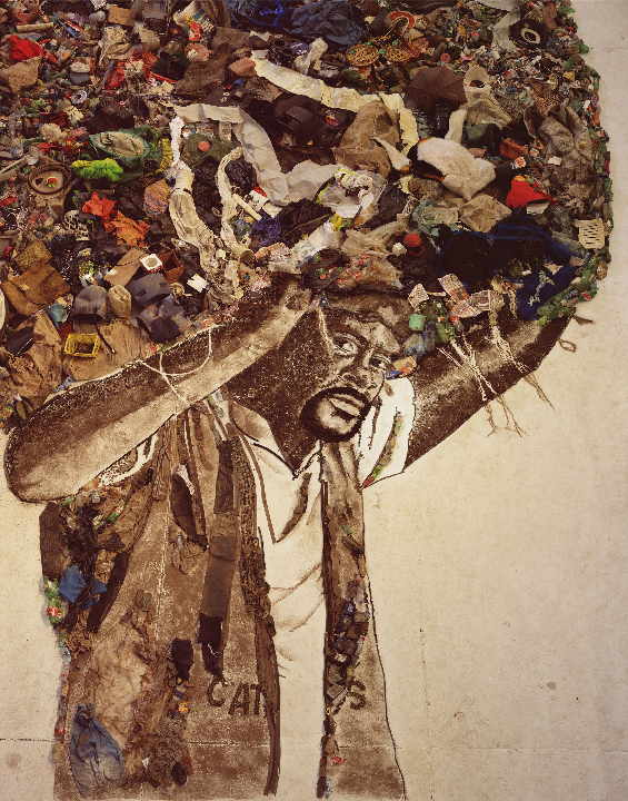 Carlao  (Pictures of Garbage), 130 x 102 cm