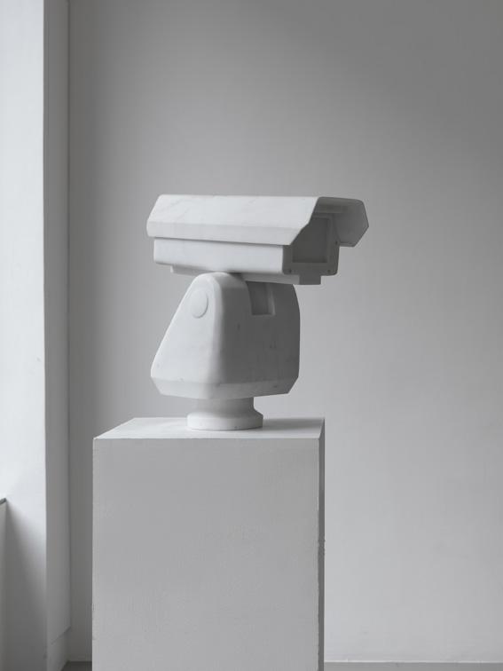 Surveillance camera, marbre