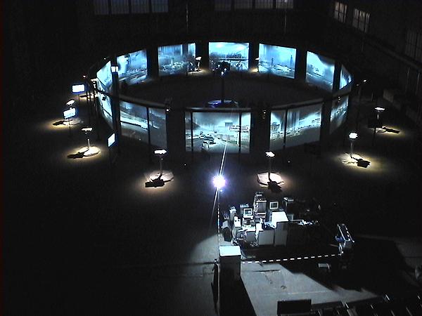 Cosmopolis, installation intéractive de @réalité virtuelle Année