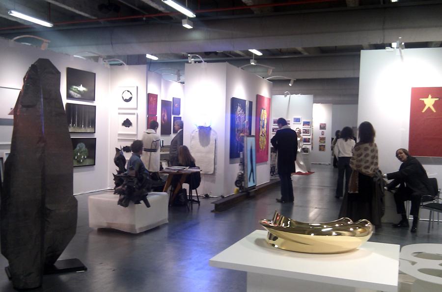 Ambiance à Chic Art Fair 2010