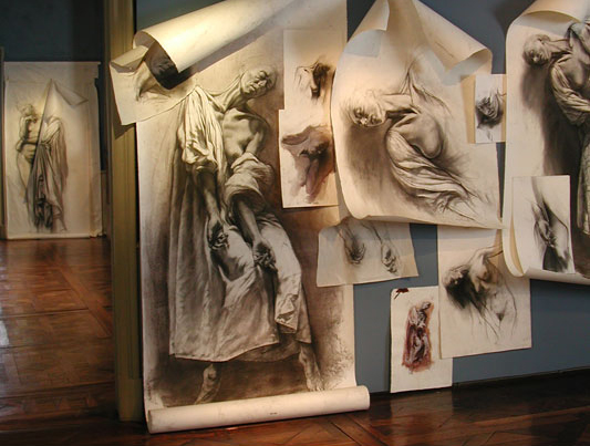 Ernest Pignon-Ernest courtesy Musée Ingres