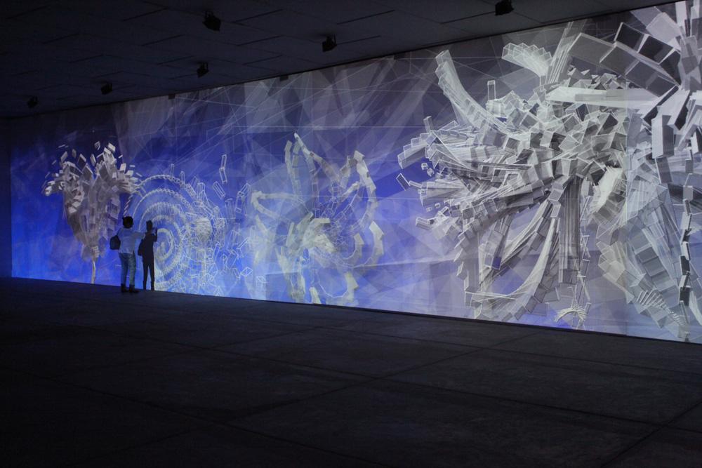 Miguel Chevalier, Avec la collaboration de Jacopo Baboni Schilingi et d'Annick Menardo