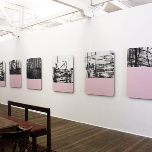 Miles Hall courtesy Ray Hughes gallery