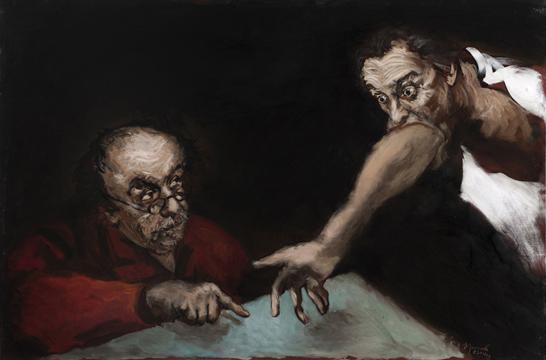 Gérard Garouste courtesy galerie Templon