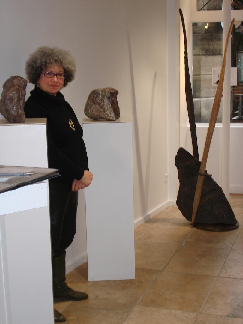 L'artiste chez Vera Amsellem
