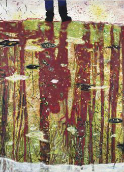 Peter Doig, courtesy Sotheby's