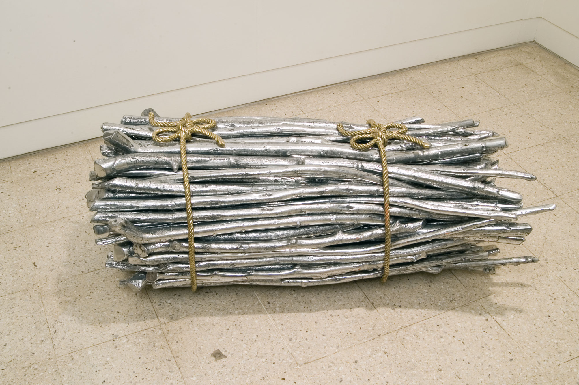 Subodh Gupta, photo Galerie Nature Morte