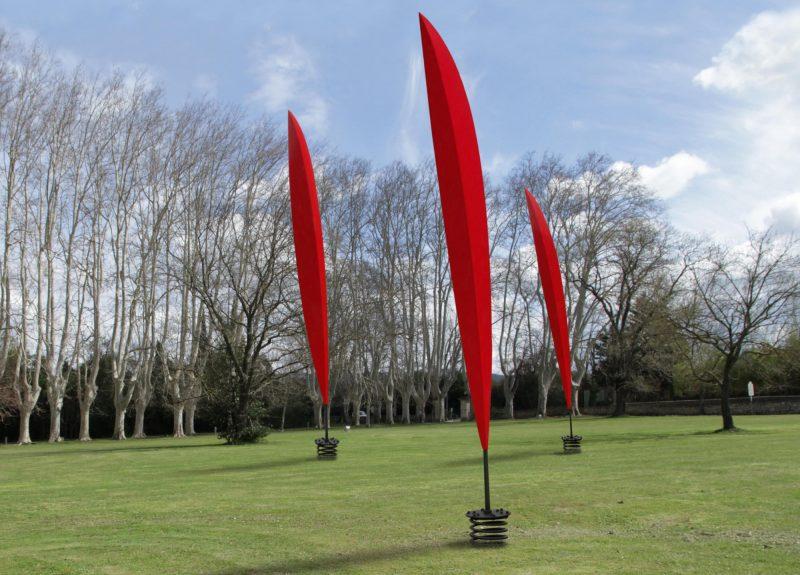 Les plumes rouges, Francis Guerrier, 2013.