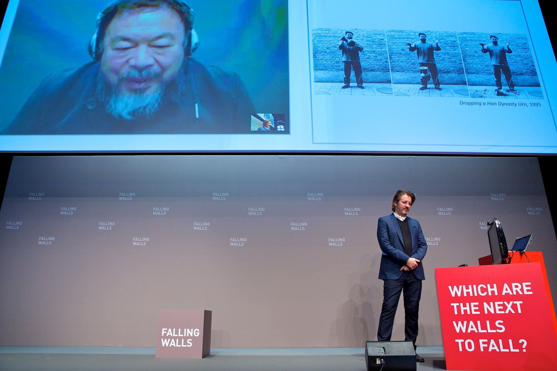 Photo Kay Herschelmann, courtesy fondation Falling Walls