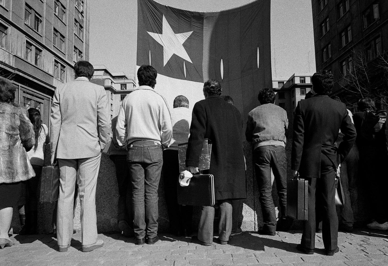 «Centro de Santiago», Alejandro Hoppe, 1987