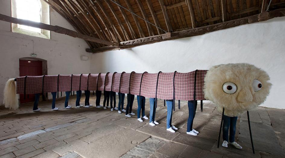 Virginie Barré, photo Stéphane Cuisset courtesy L'art dans les chapelles