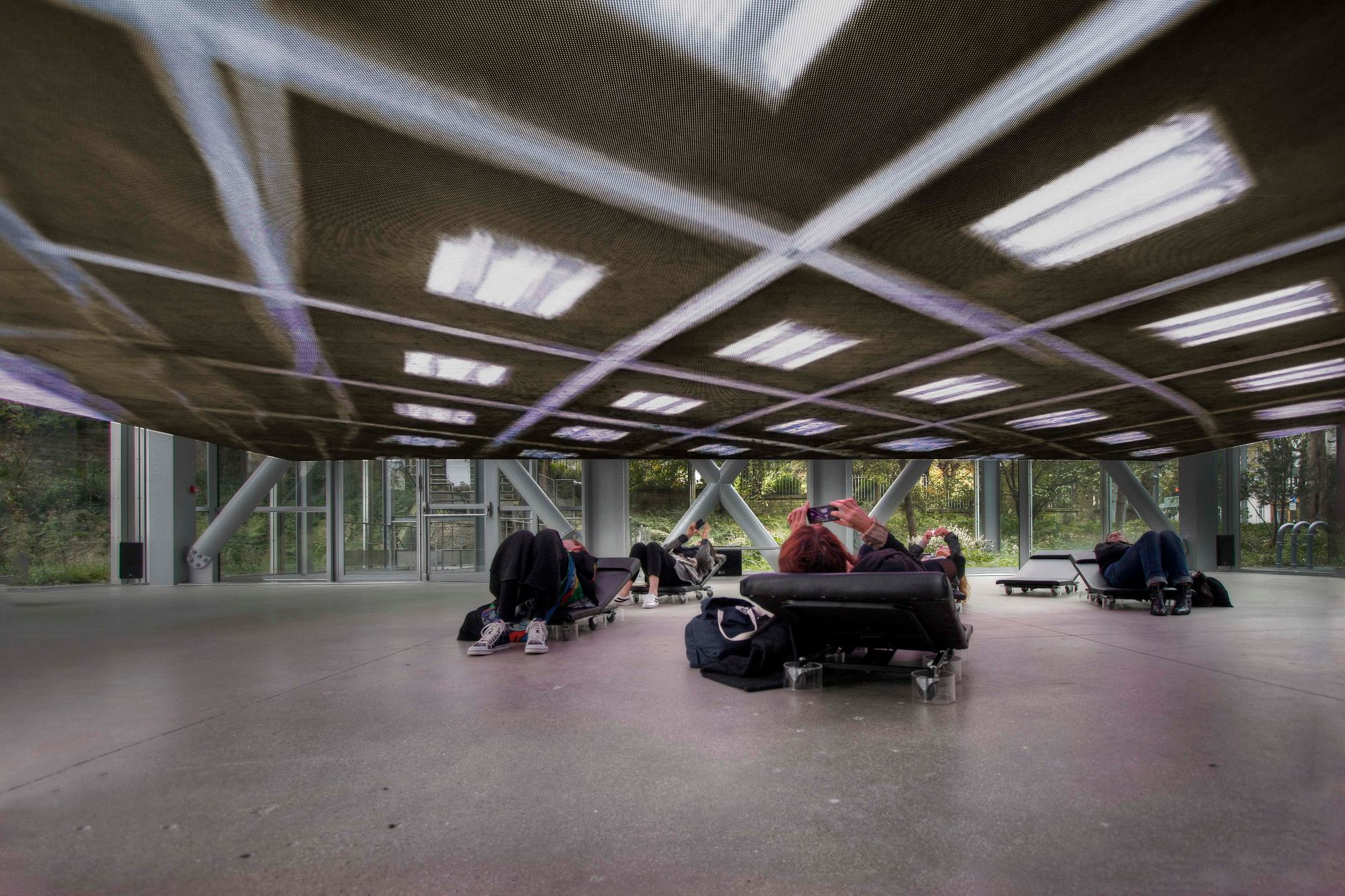 Diller Scofidio + Renfro, photo Trevor Lamphier courtesy Fondation Cartier pour l'art contemporain