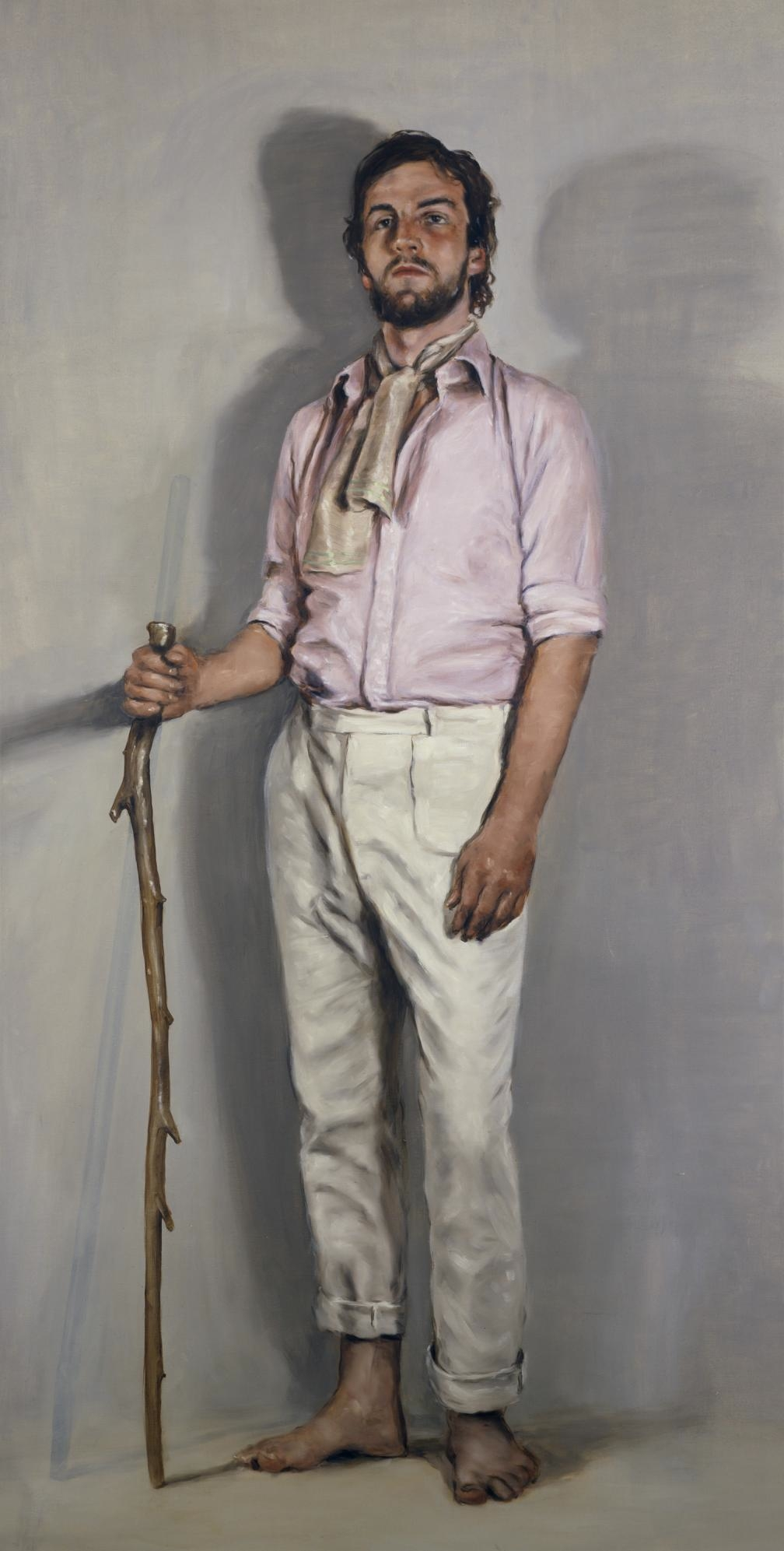 Michaël Borremans, photo Ron Amstutz courtesy Xeno X gallery et David Zwirner