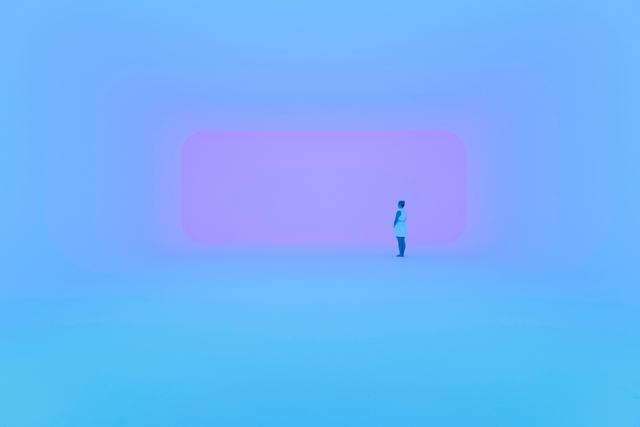 Collection James Turrell, photo : National Gallery of Australia