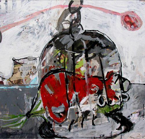 Gersende Crevel courtesy galerie Keller