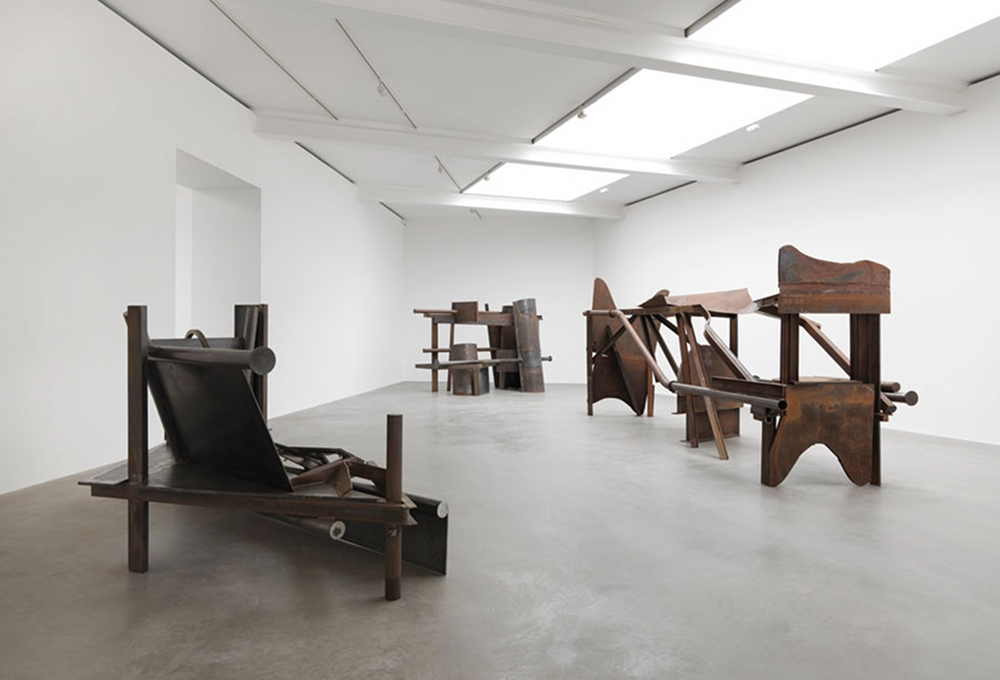 Anthony Caro, photo Mike Bruce courtesy Gagosian gallery