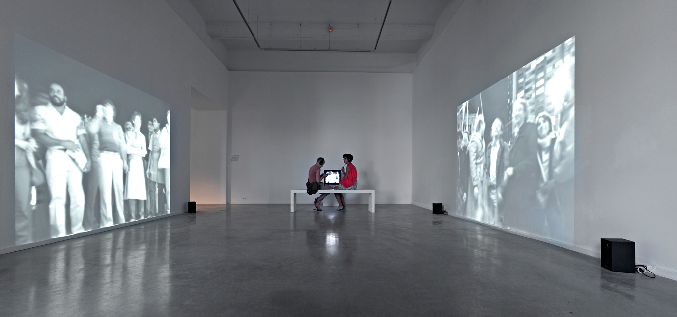 Kit Galloway & Sherrie Rabinowitz, photo Brice Pelleschi