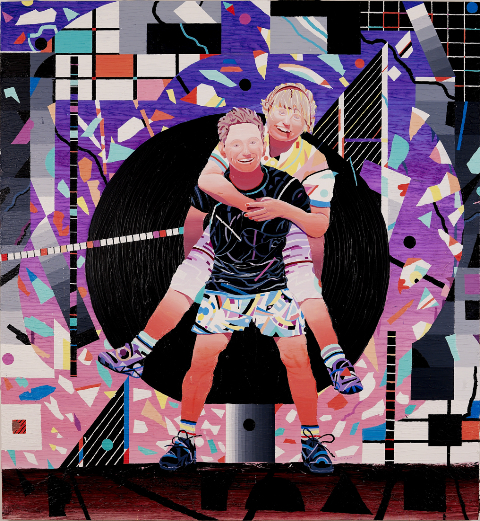Justin Craun courtesy galerie Richard