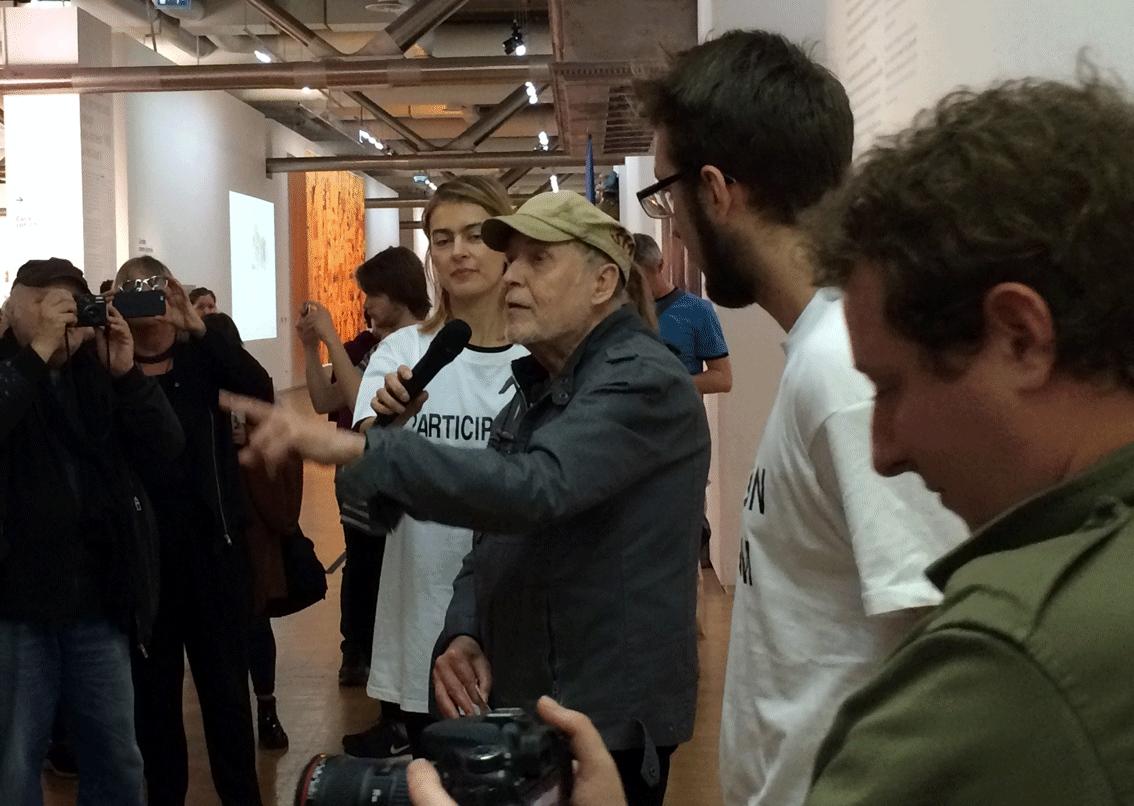 Performance OSI au Centre Pompidou, le dimanche 1er novembre 2015