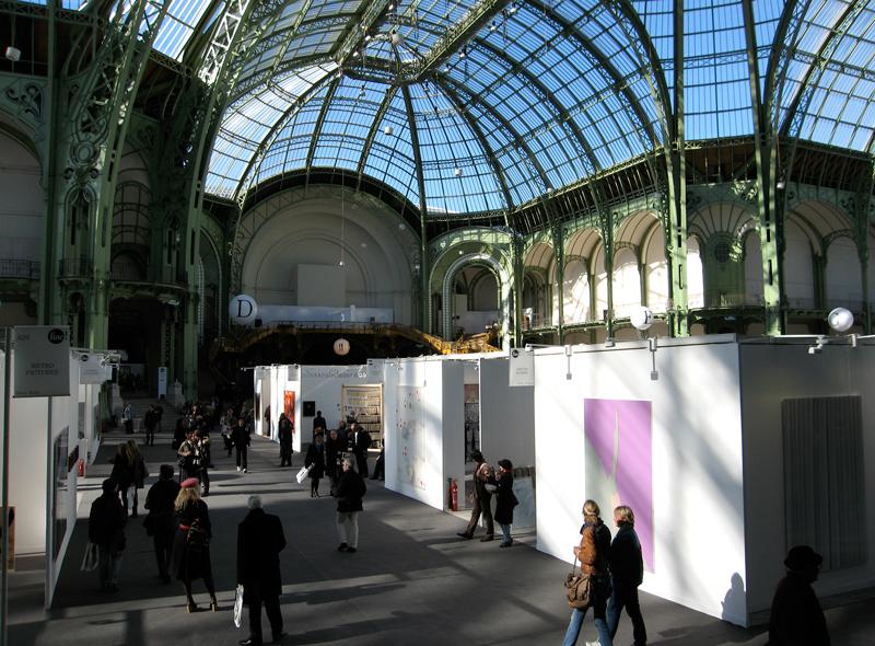 Ambiance à la Fiac au Grand Palais.