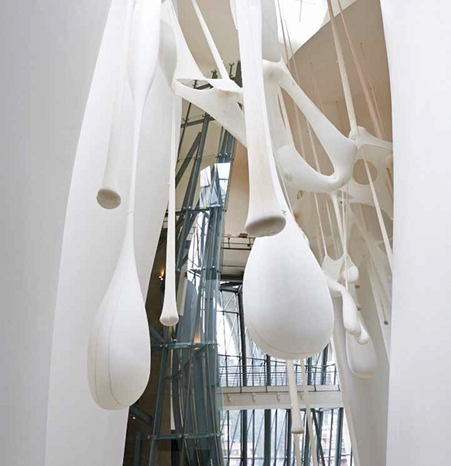 Ernesto Neto, photo Erika Ede courtesy Guggenheim Bilbao