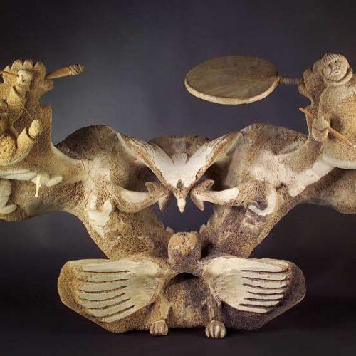 Jake Kadluk, collection du musée des Confluences, Lyon