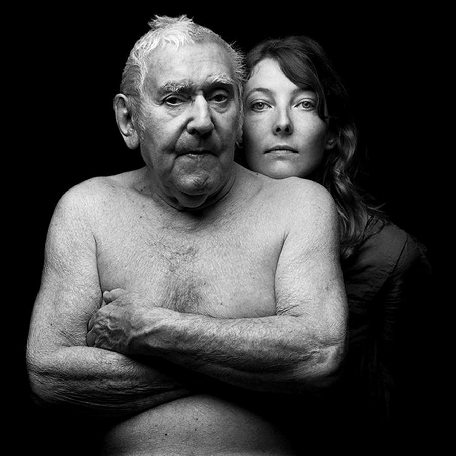 Jean Rustin, Charlotte Waligora, photo Hervé Szydlowski