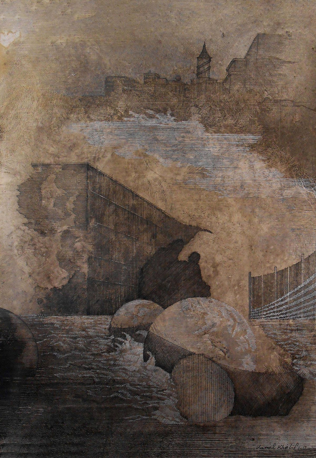 Kamel Khélif, courtesy galerie Béatrice Soulié