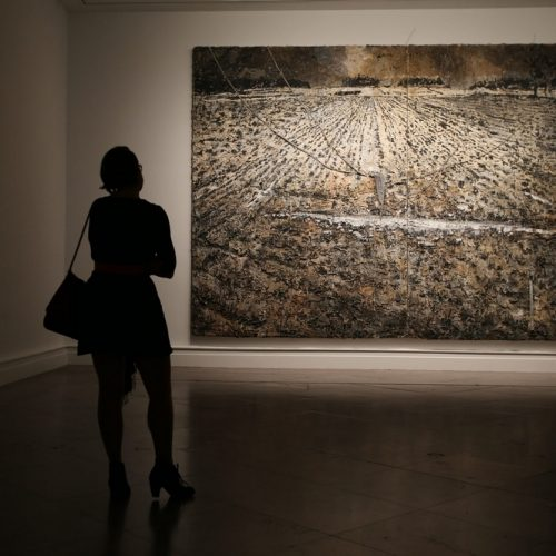 Anselm Kiefer, photo Charles Lewis/Buffalo News