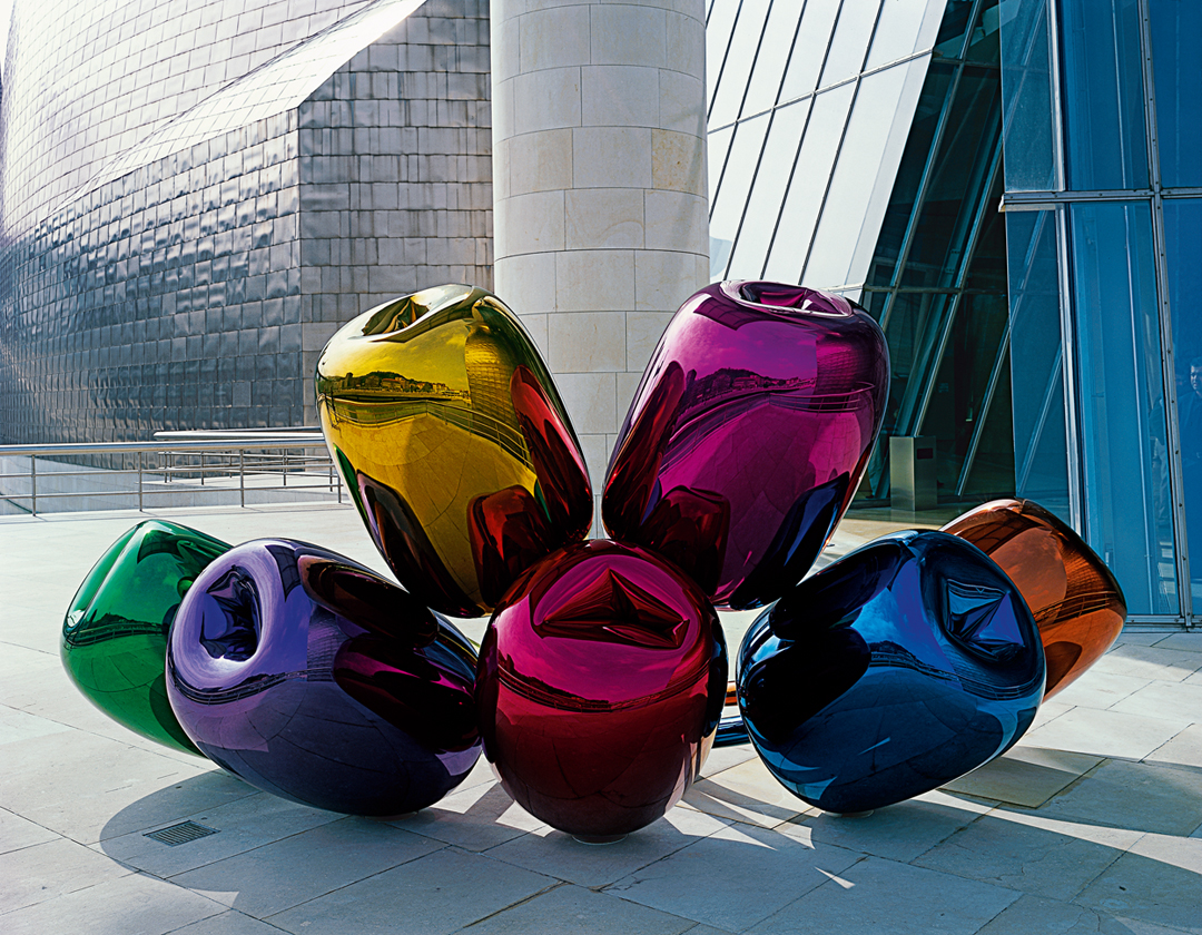 Jeff Koons courtesy Guggenheim Bilbao Museoa