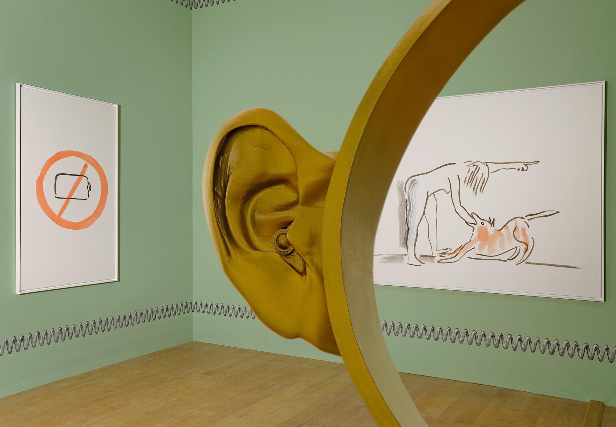 Camille Henrot, photo Blaise Adilon, courtesy Kamel Mennour et Biennale de Lyon