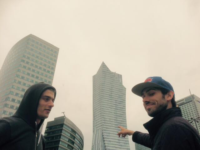 Jonathan Pouthier et Enrico Camporesi, courtesy Centre Pompidou Mnam CCI