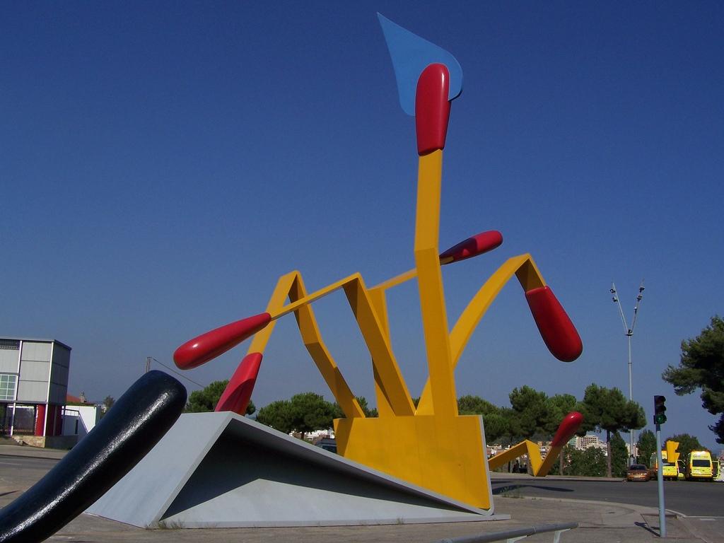 Claes Oldenburg et Coosje van Bruggen