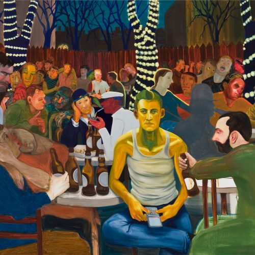 Nicole Eisenman, photo P. Schälchli, courtesy Anton Kern Gallery, Susanne Vielmetter Los Angeles Projects, galerie Barbara Weiss
