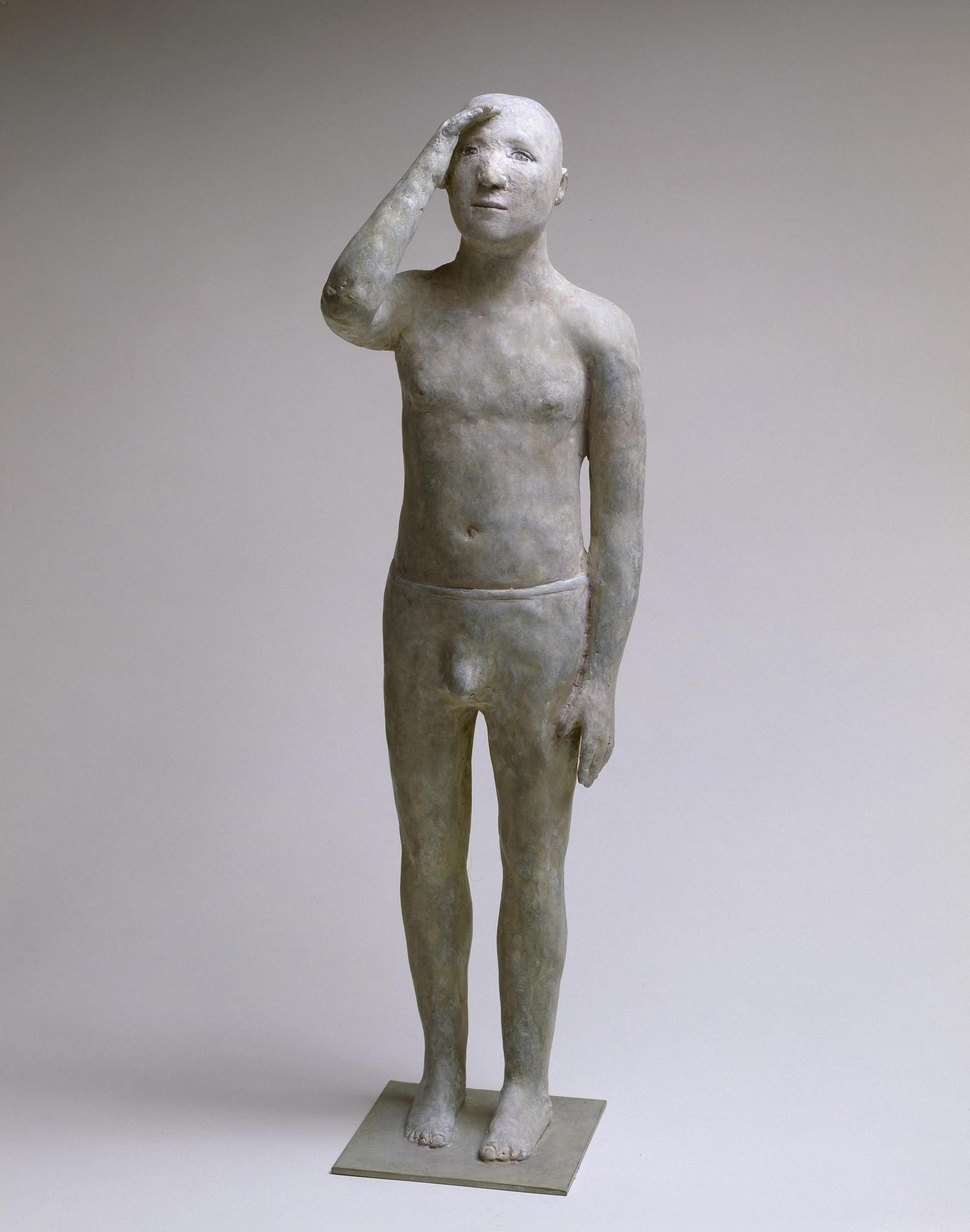 Regarder au loin, bronze, 45 cm