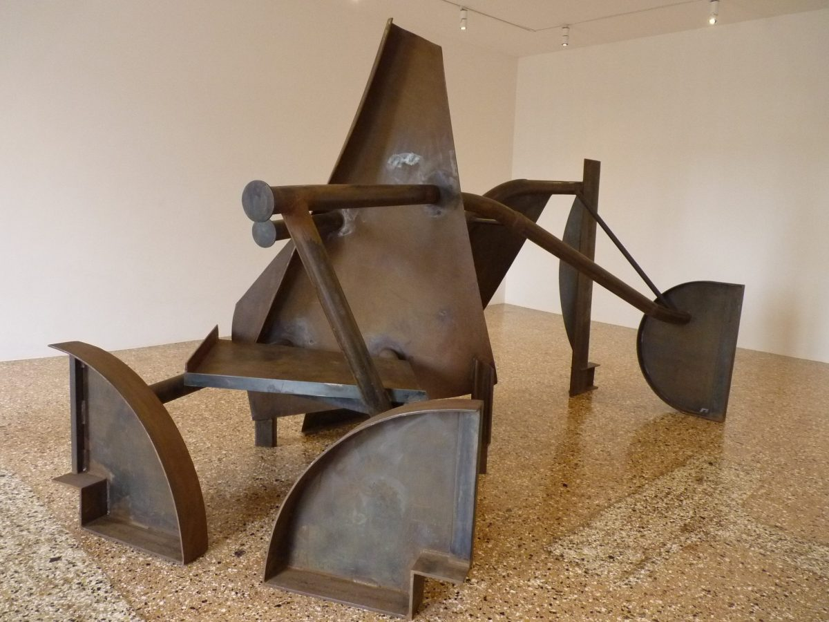 Anthony Caro, photo S. Deman