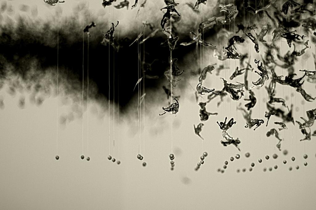 Courtesy Galerie Vanessa Quang.  vu au Show Off