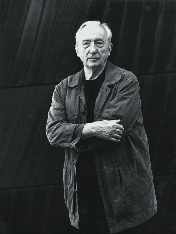 Pierre Soulages, photo Fritz Pitz