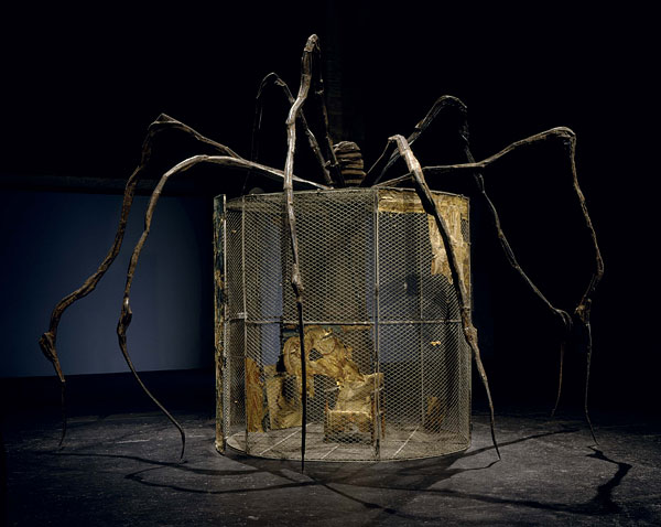 Louise Bourgeois, photo Frédéric Delpech courtesy Cheim & Read, New York