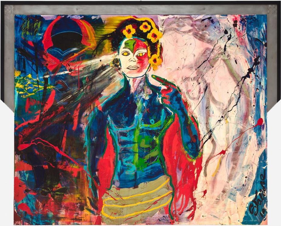 Sylvester Stallone, courtesy galerie Gmurzynska