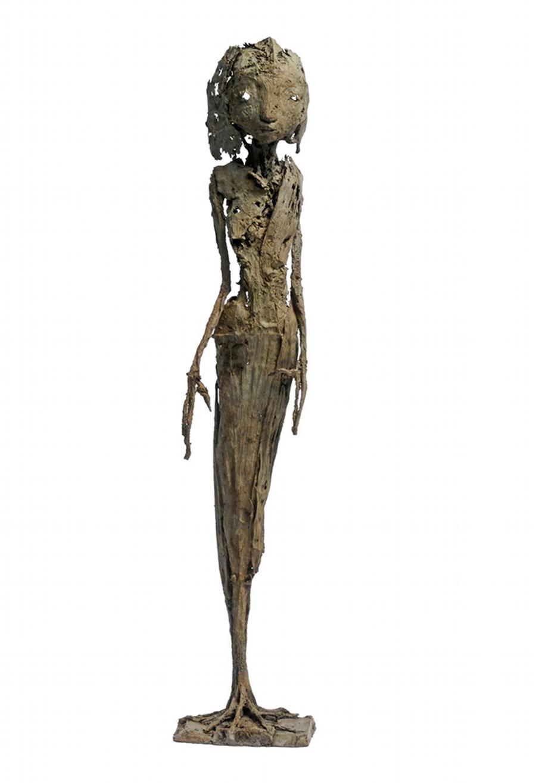 Talemen, bronze, pièce unique (49.5 cm de hauteur)
