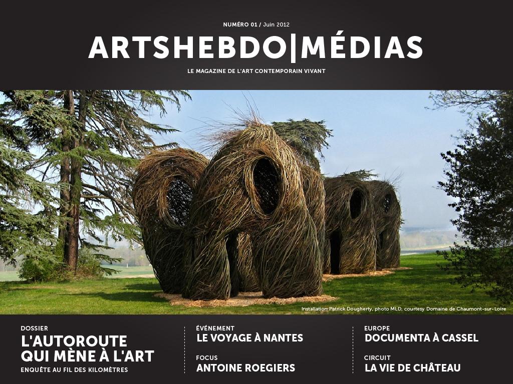 Patrick Dougherty, ArtsHebdoMédias