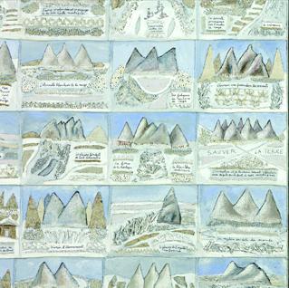 Une vallée blanche / dédiée aux glaciers@qui fondent