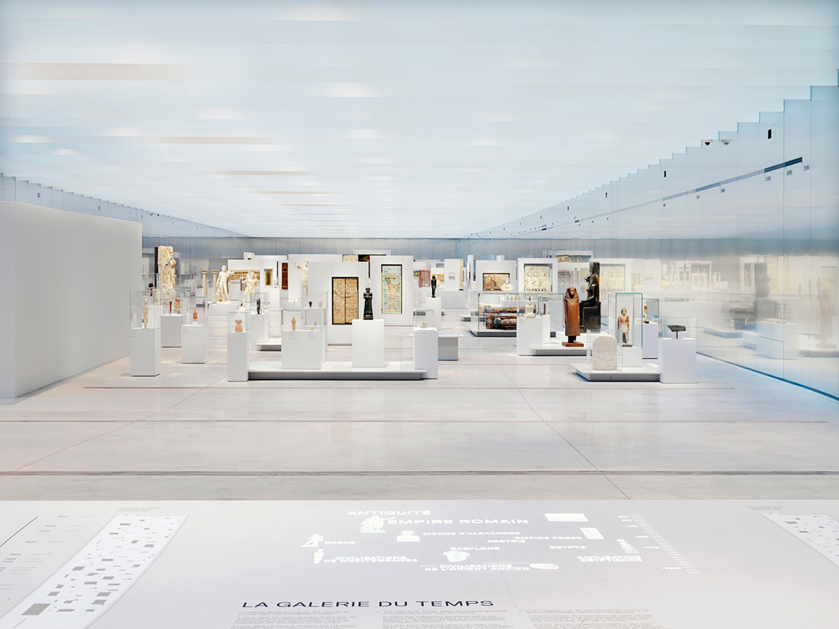 Photo Philippe Chancel / Musée du Louvre-Lens, courtesy Sanaa, Imrey Culbert, Catherine Mosbach