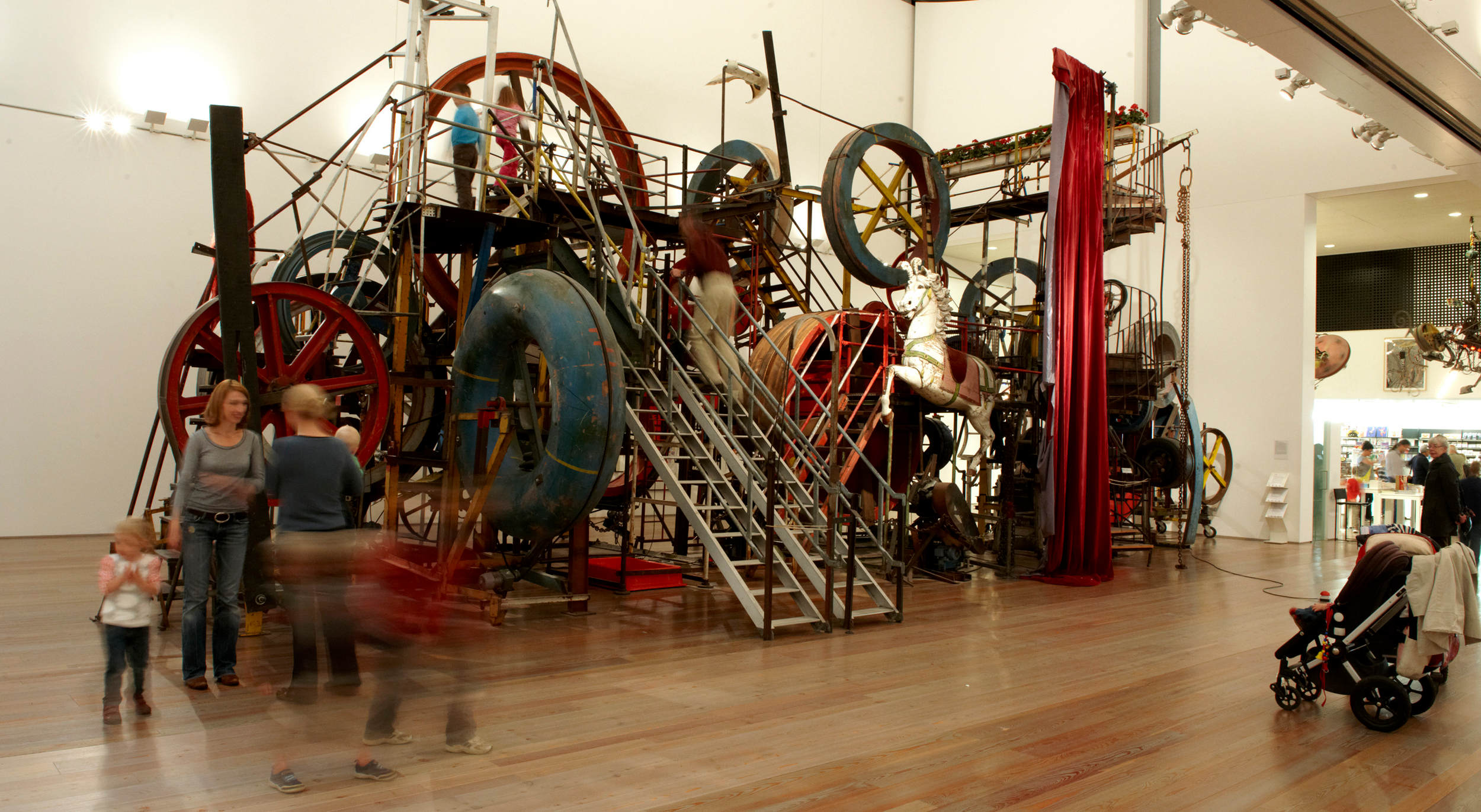 Jean Tinguely, photo Peter Schnetz courtesy Musée Tinguely