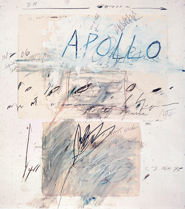 Cy Twombly, courtesy Gagosian gallery
