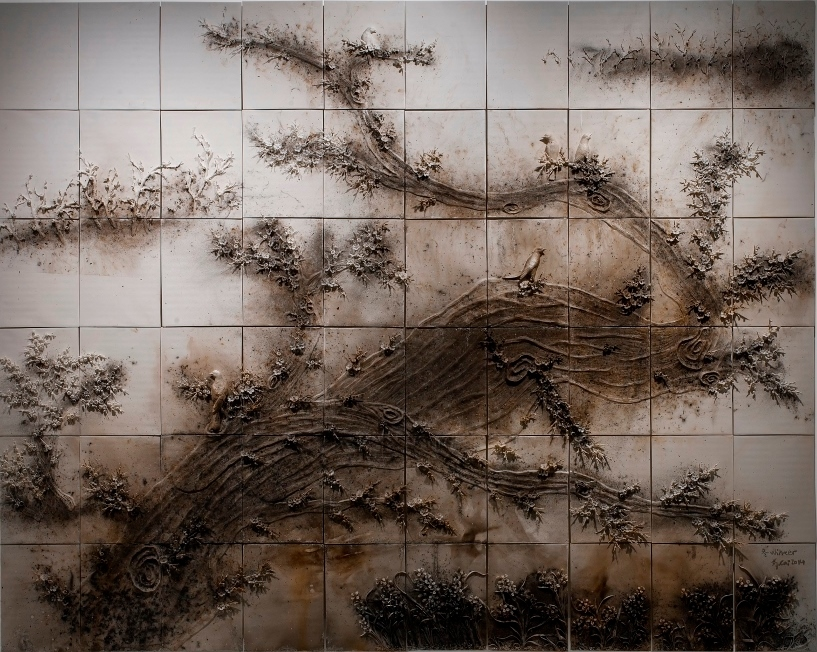 « Winter », partie de l'installation « Spring, Summer, Fall, Winter », Cai Guo-Qiang