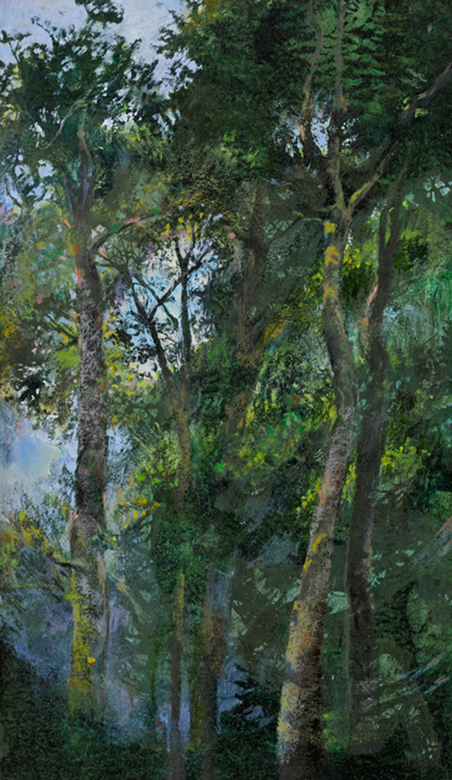 Forêt,  (37 X 22 cm)