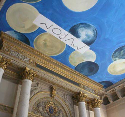 Cy Twombly - Crédit photo : 2010, Paris, Musée du Louvre/Antoine Mongodin
