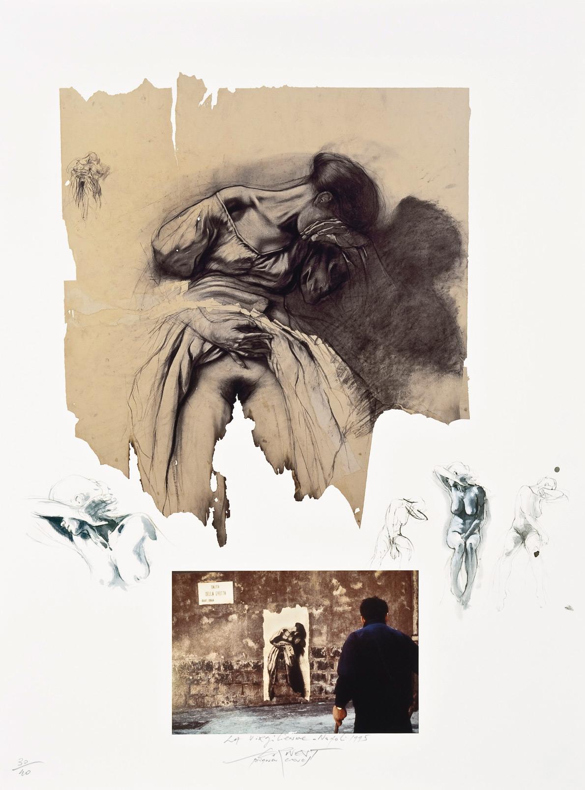 Virgilienne (Naples 1995), estampe numérique pigmentaire, tirage 40 exemplaires (80 x 60 cm)